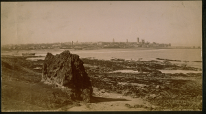 Photograph of St Andrews by Archibald Downie. © Lawrence Levy Photographic Collection. All rights reserved.  Image courtesy of the University of St Andrews Library, [ALB-17-11.2].""